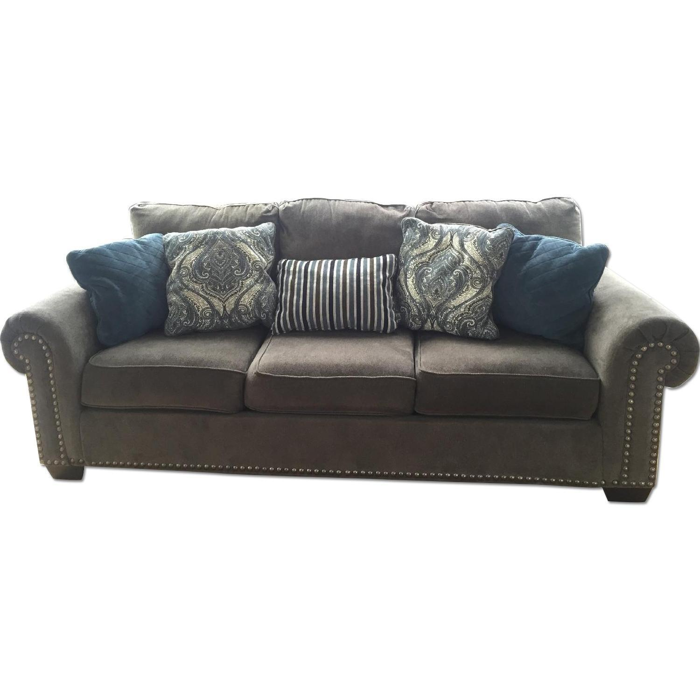 Raymour & Flanigan Queens Sleeper Sofa - image-0