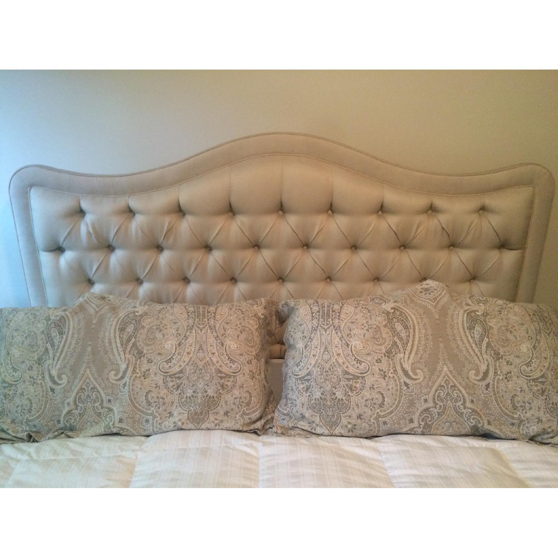 Drexal Heritage Custom Upholstered King Headboard - image-1