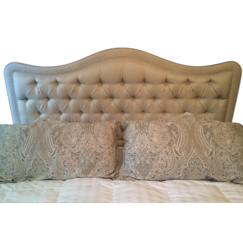 Drexal Heritage Custom Upholstered King Headboard - image-0