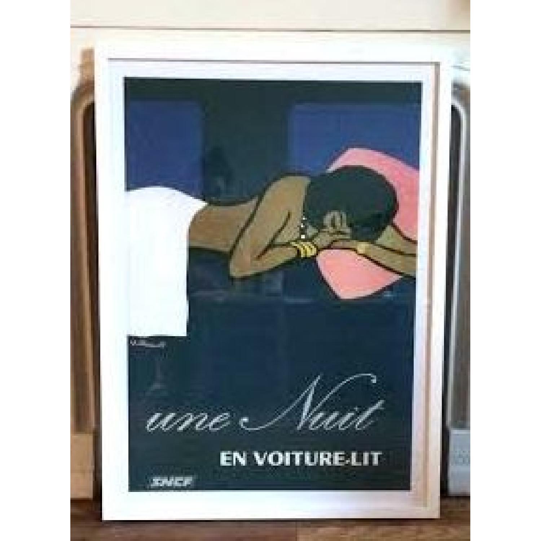 Une Nuit en Voiture-Lit by Villemot Bernard Art Print Poster - image-1