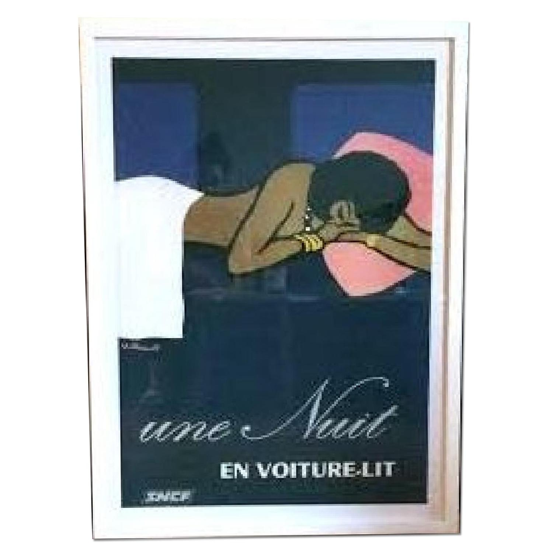 Une Nuit en Voiture-Lit by Villemot Bernard Art Print Poster - image-0