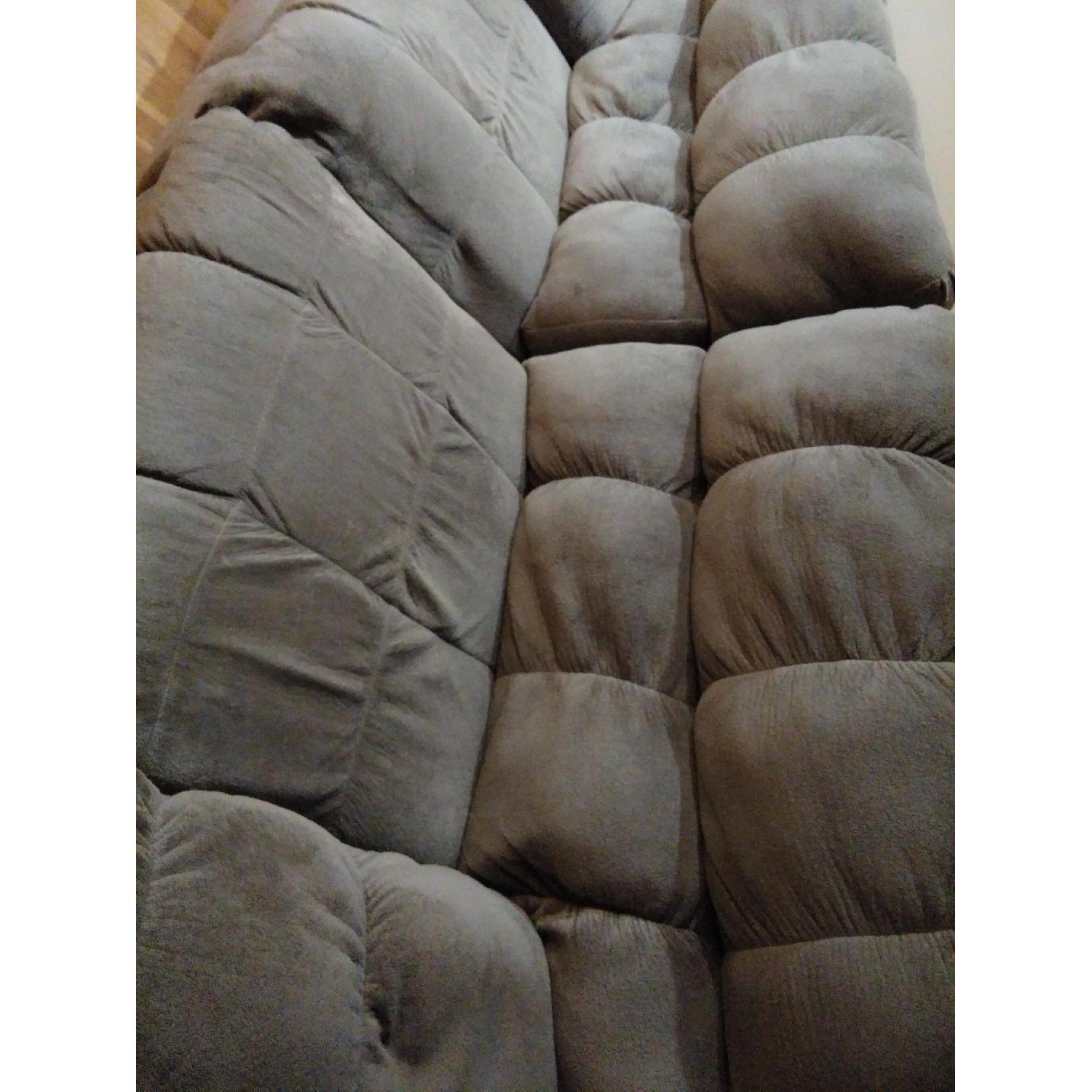 Ashley's Reclining Loveseat - image-2