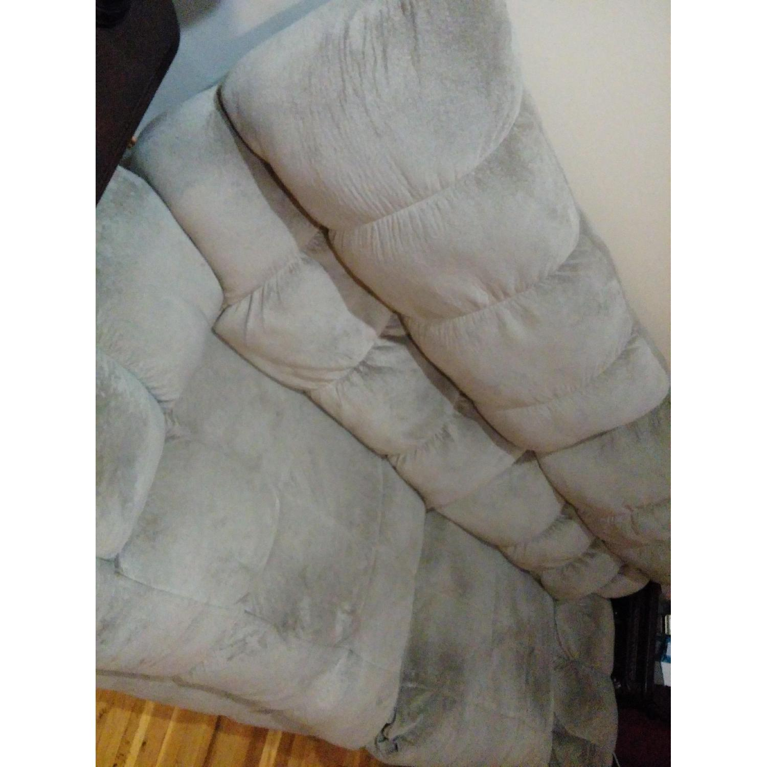 Ashley's Reclining Loveseat - image-3