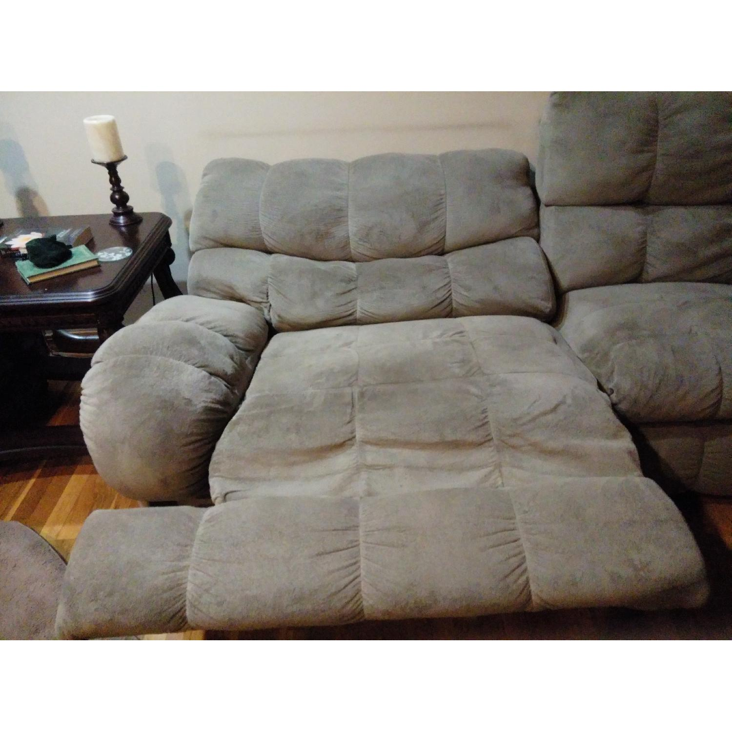 Ashley's Reclining Loveseat - image-4