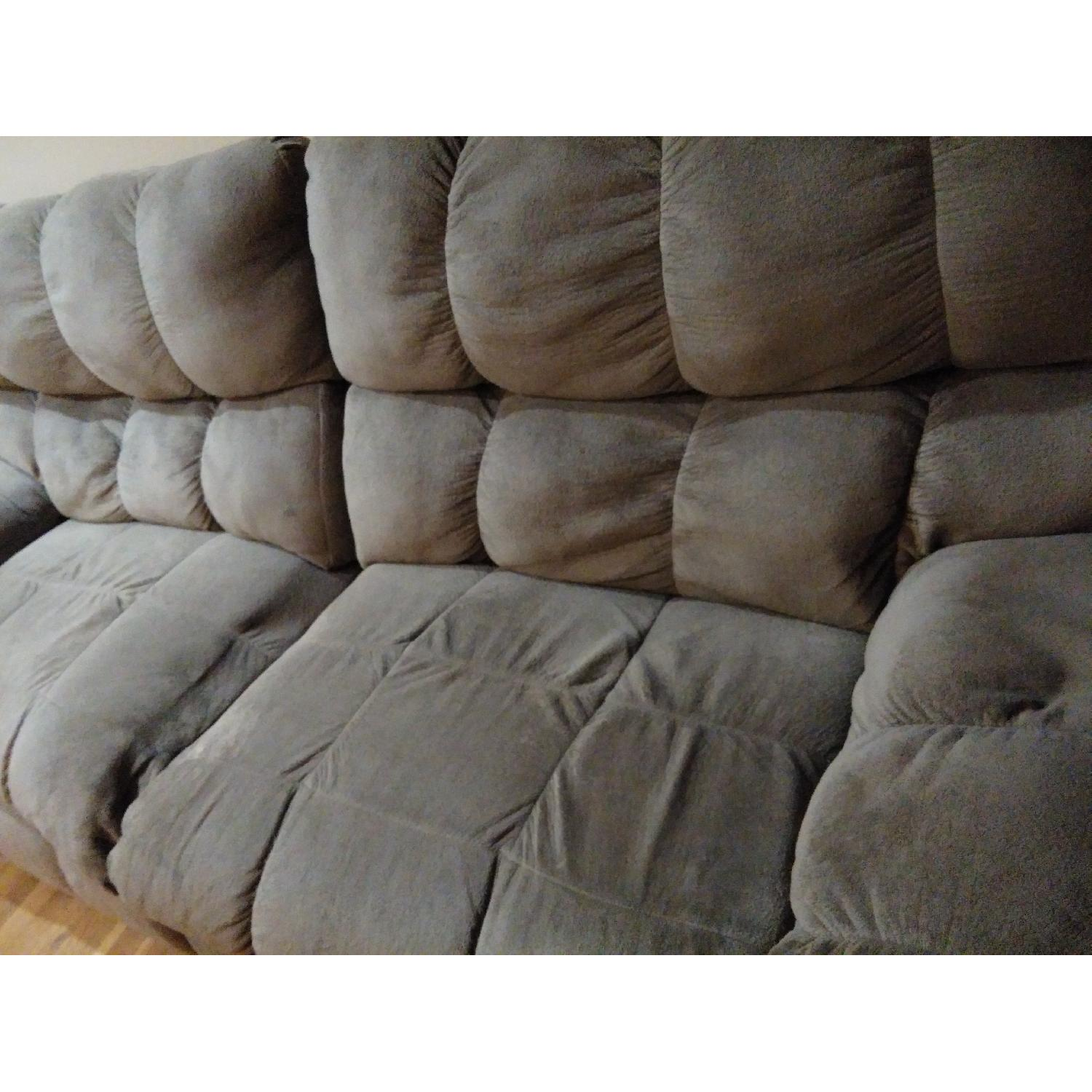 Ashley's Reclining Loveseat - image-8