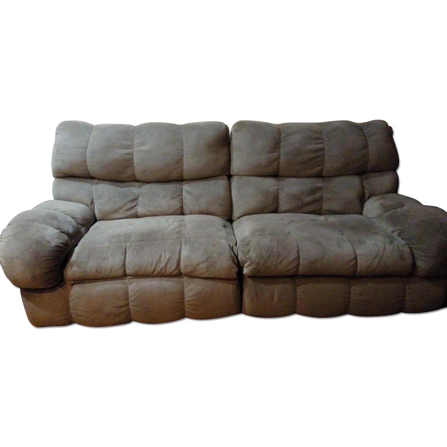 Ashley's Reclining Loveseat - image-0