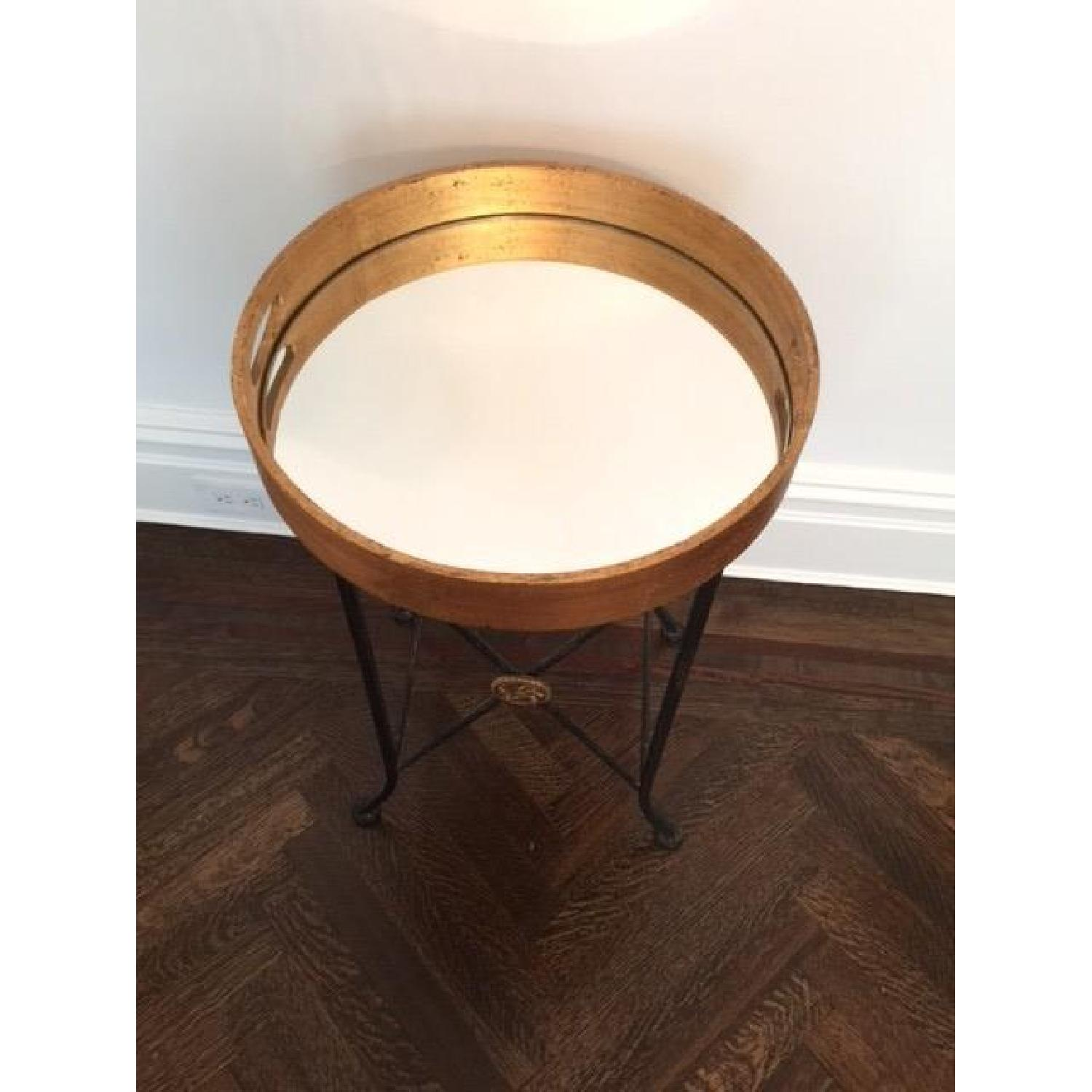 Mirrored Tray Table - image-2