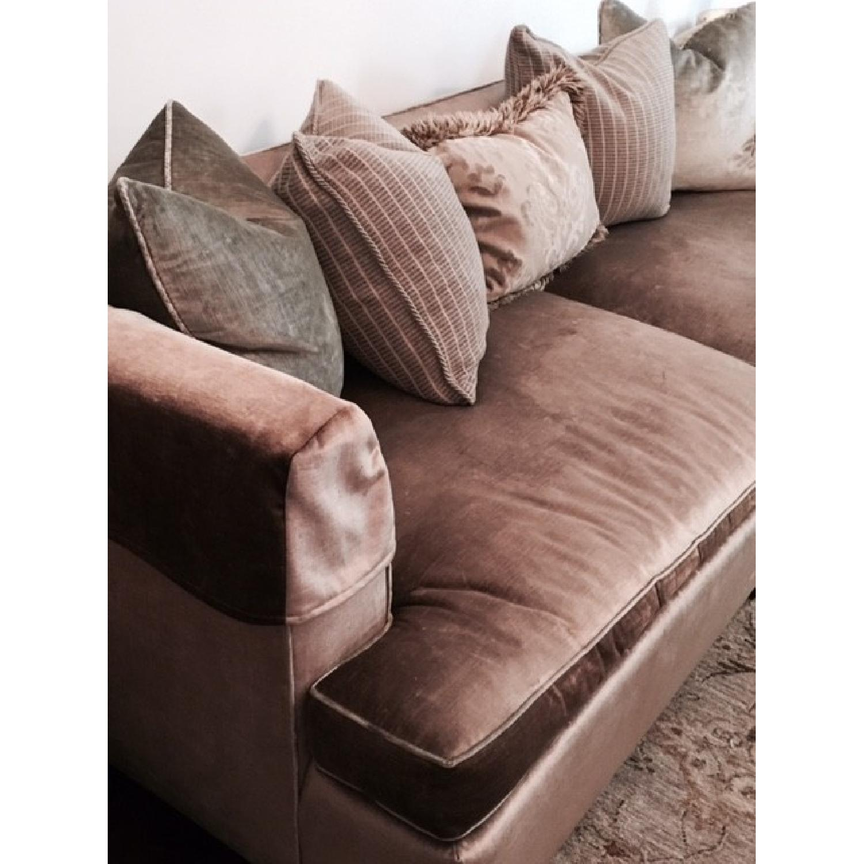 Hickory Chair Sofa in Custom Fabric - image-1