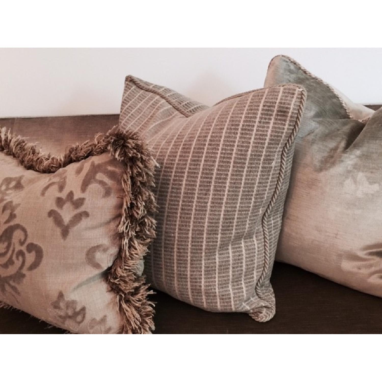 Hickory Chair Sofa in Custom Fabric - image-2