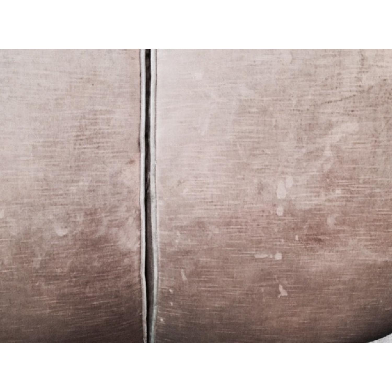 Hickory Chair Sofa in Custom Fabric - image-3
