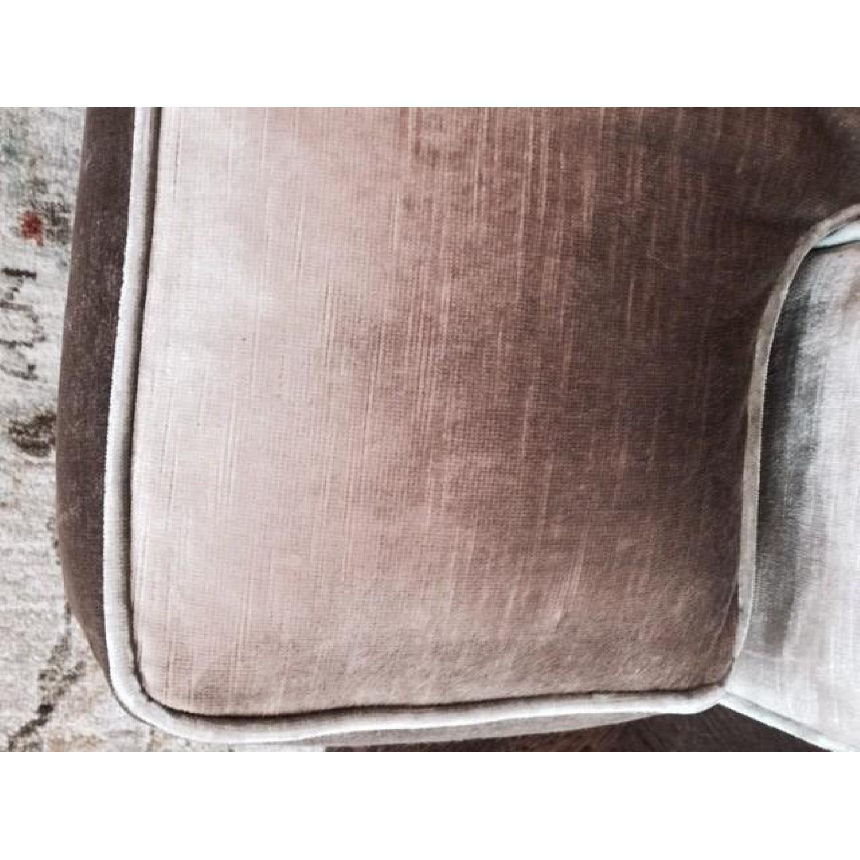 Hickory Chair Sofa in Custom Fabric - image-4