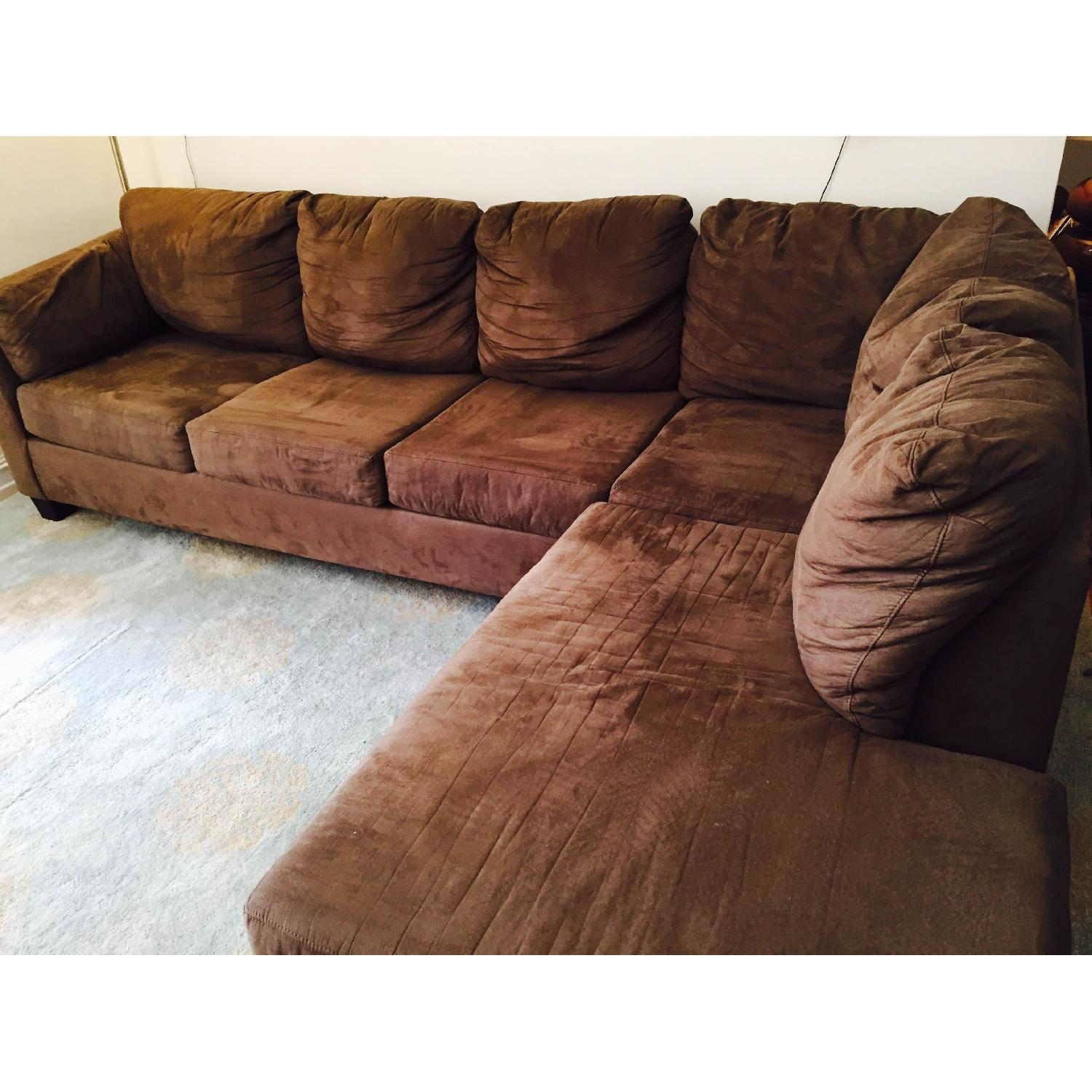 Bob's Sleeper Sectional Sofa - image-1