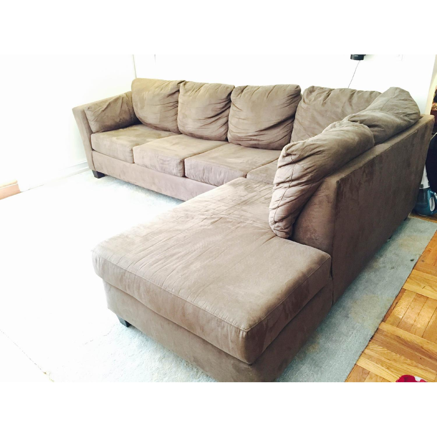 Bob's Sleeper Sectional Sofa - image-5