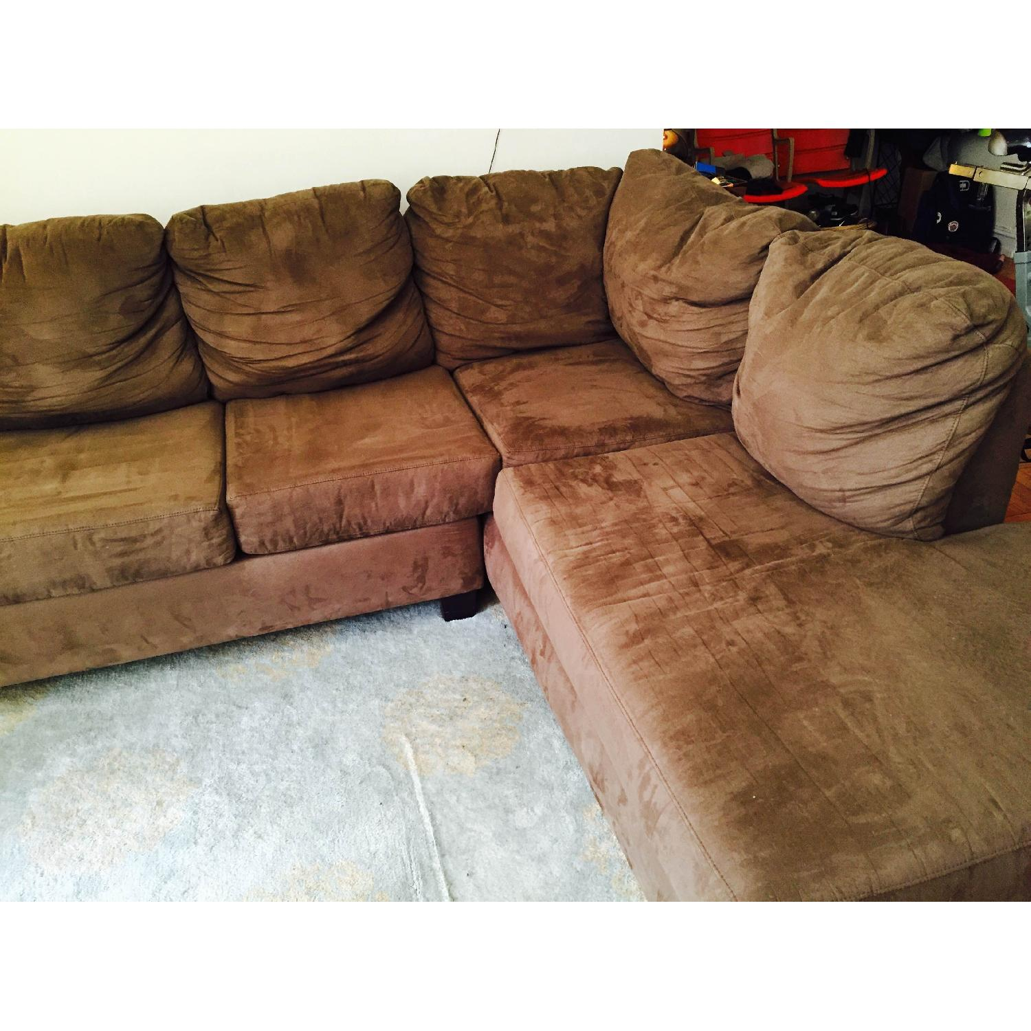 Bob's Sleeper Sectional Sofa - image-6
