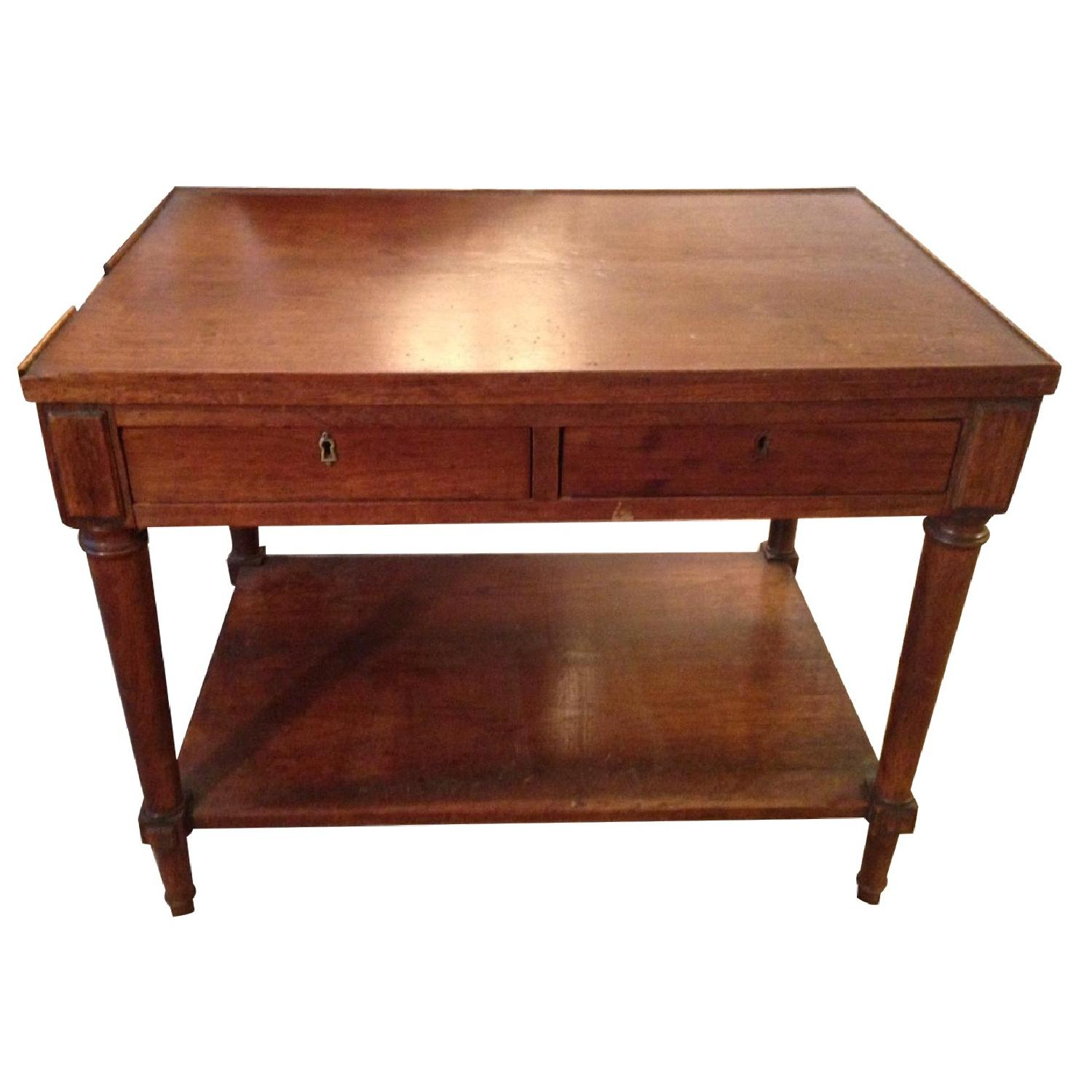 Early 20th Century French Directoire Style Mahogany Side Tables - 2 Available - image-0