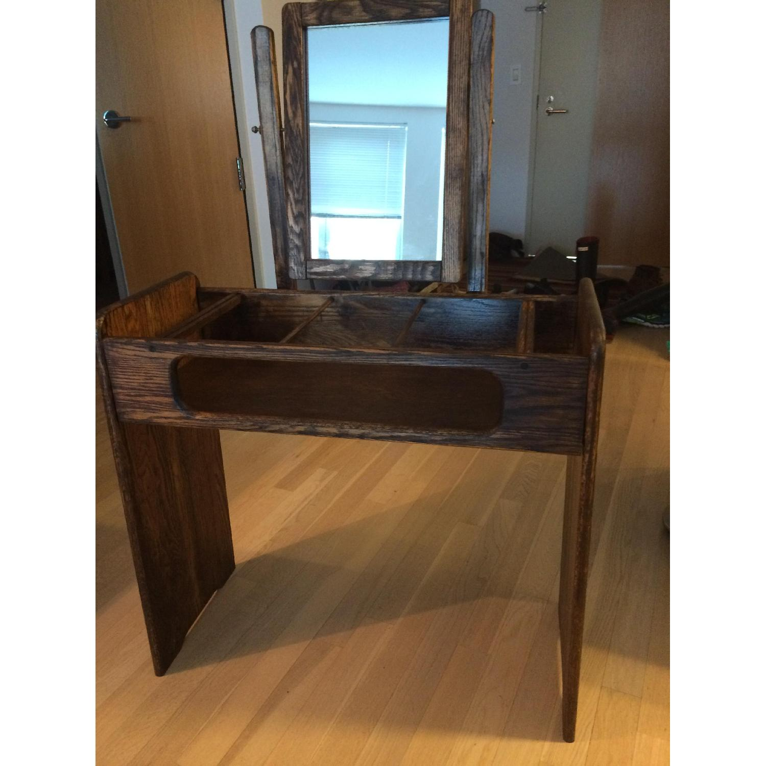 Make-Up/Vanity Table w/ Bench - image-1