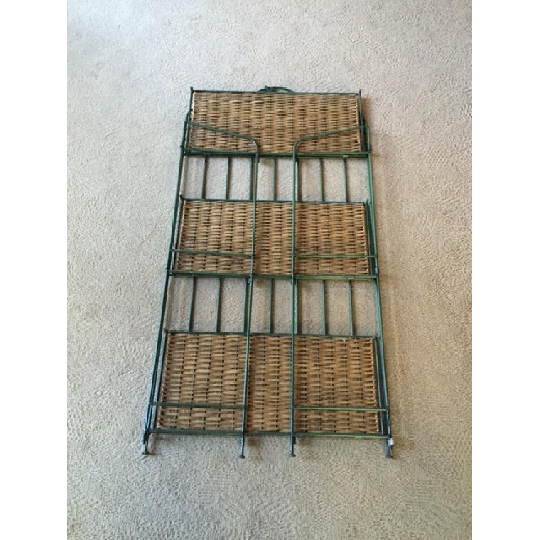 Decorative Wrought Iron Foldable Shelves - image-3