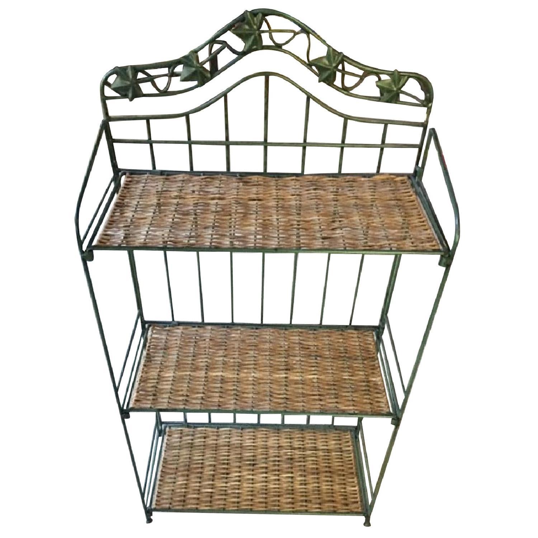 Decorative Wrought Iron Foldable Shelves AptDeco
