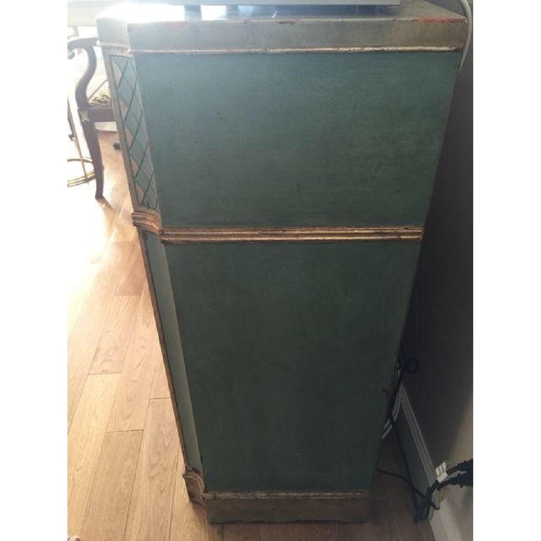 Vintage Painted Wood Sideboard - image-1
