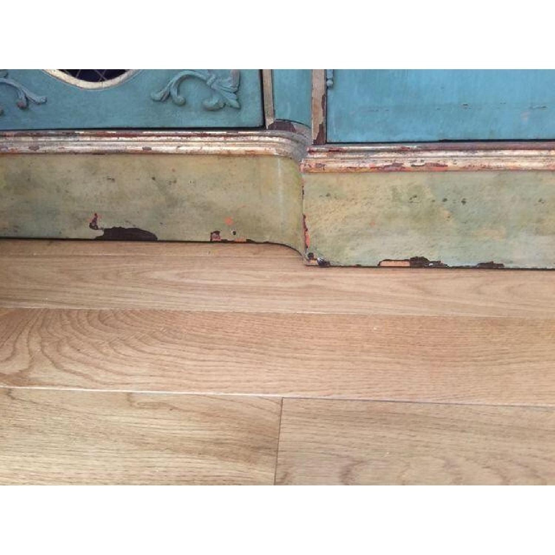 Vintage Painted Wood Sideboard - image-2