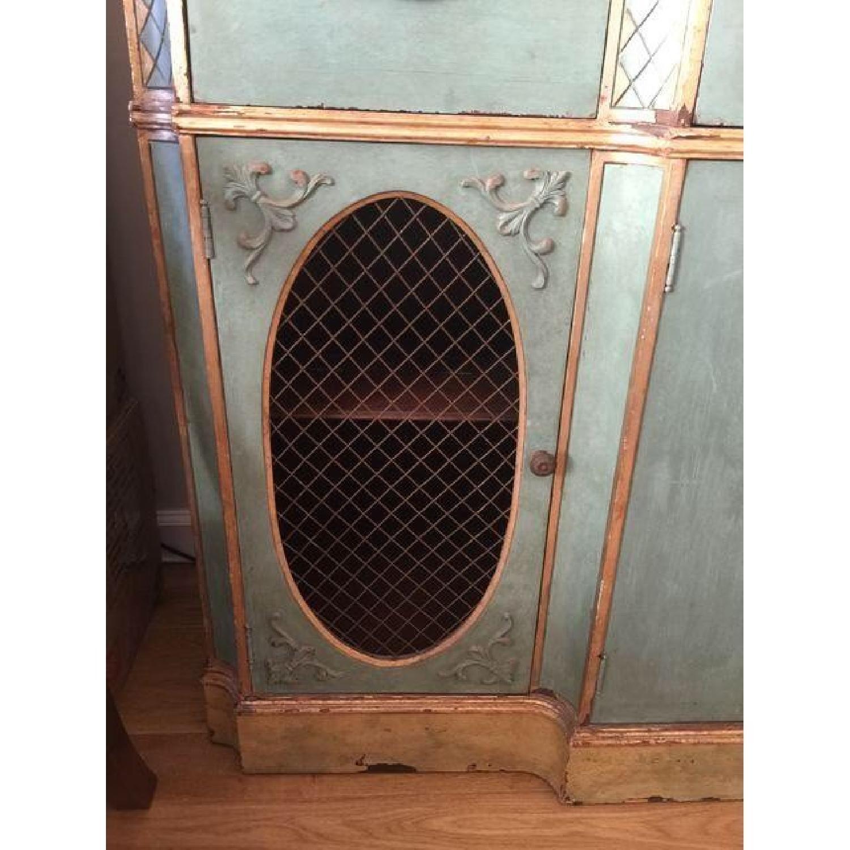 Vintage Painted Wood Sideboard - image-4