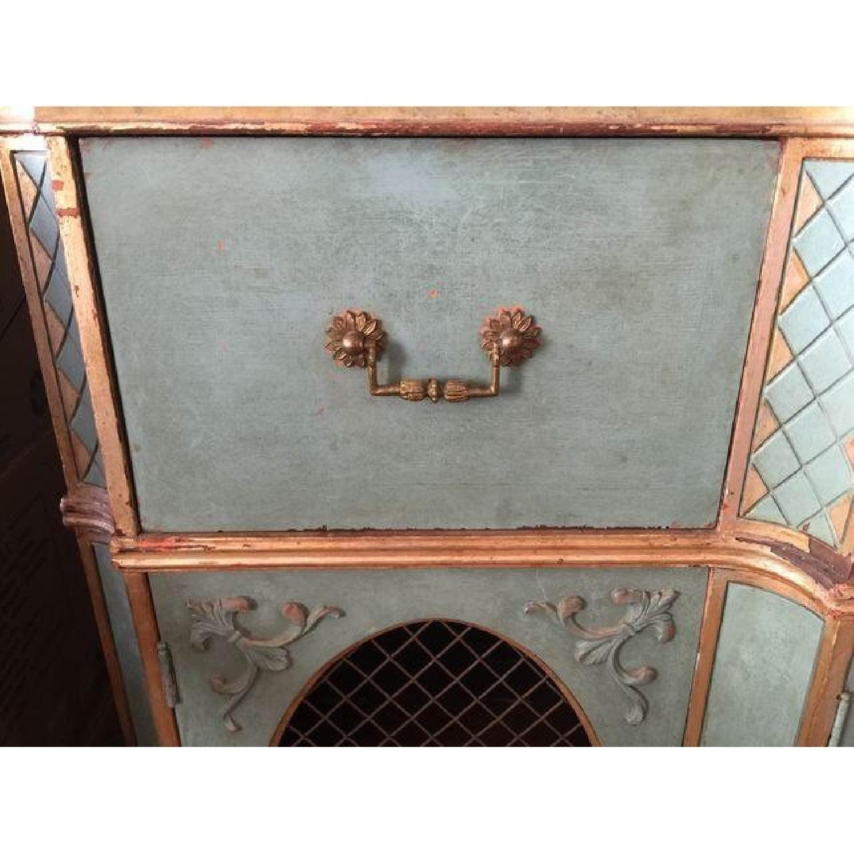 Vintage Painted Wood Sideboard - image-5