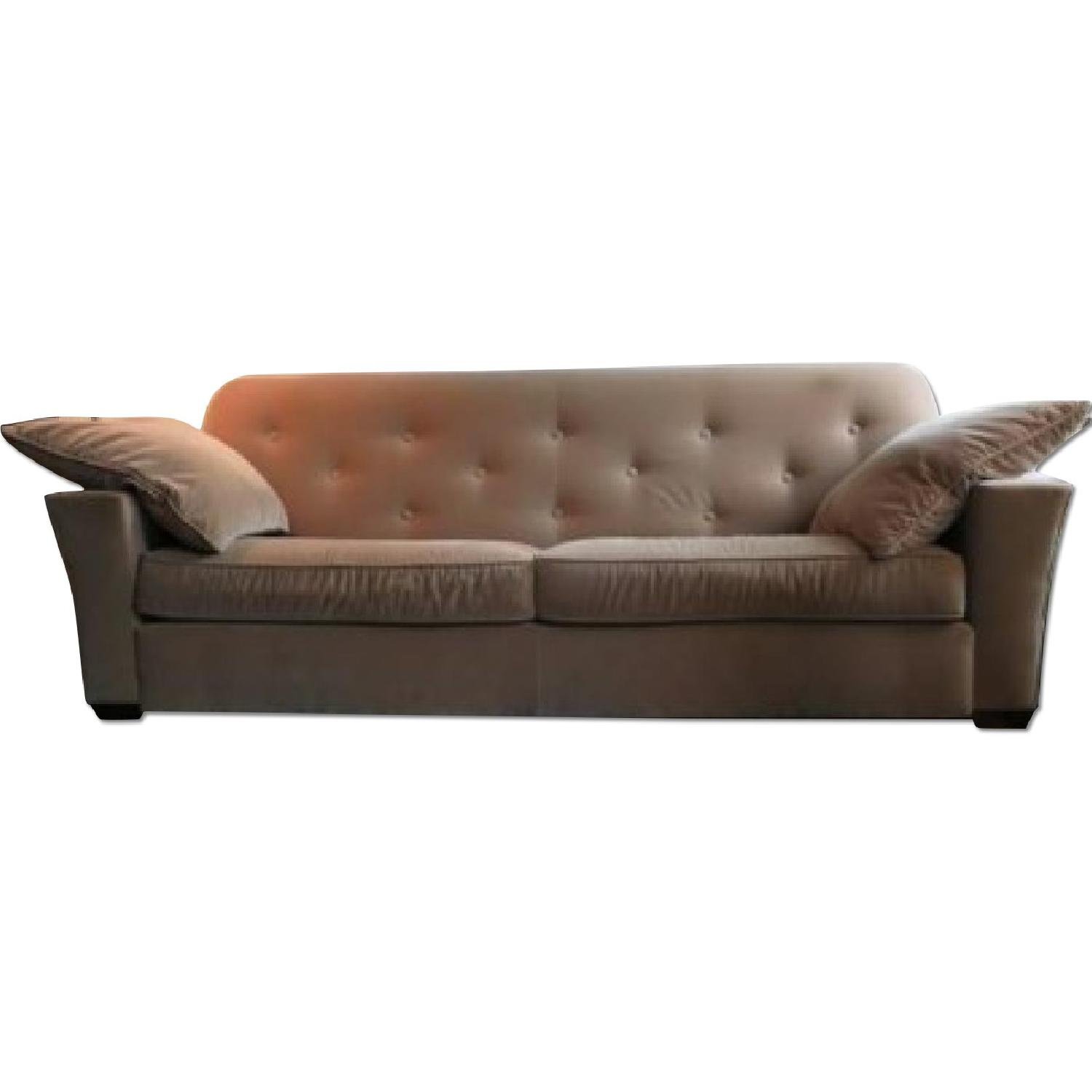 ABC Carpet & Home Cotton Velvet Sofa - image-0