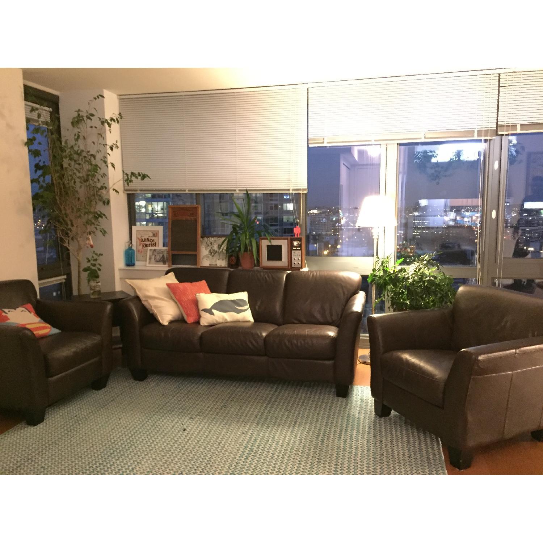 Sofa + 2 Club Chairs - image-2