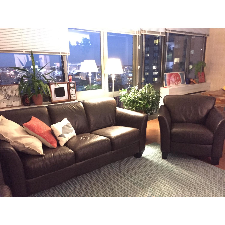 Sofa + 2 Club Chairs - image-3