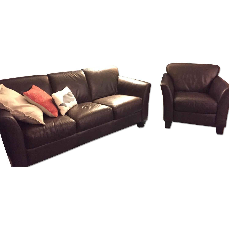 Sofa + 2 Club Chairs - image-6