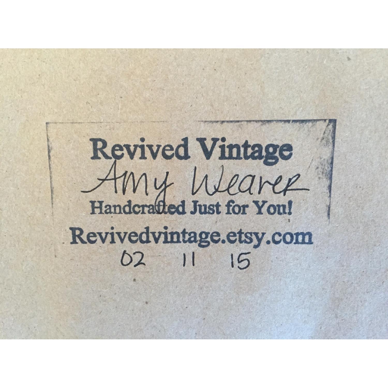 Revived Vintage White Framed Cork Board - image-3