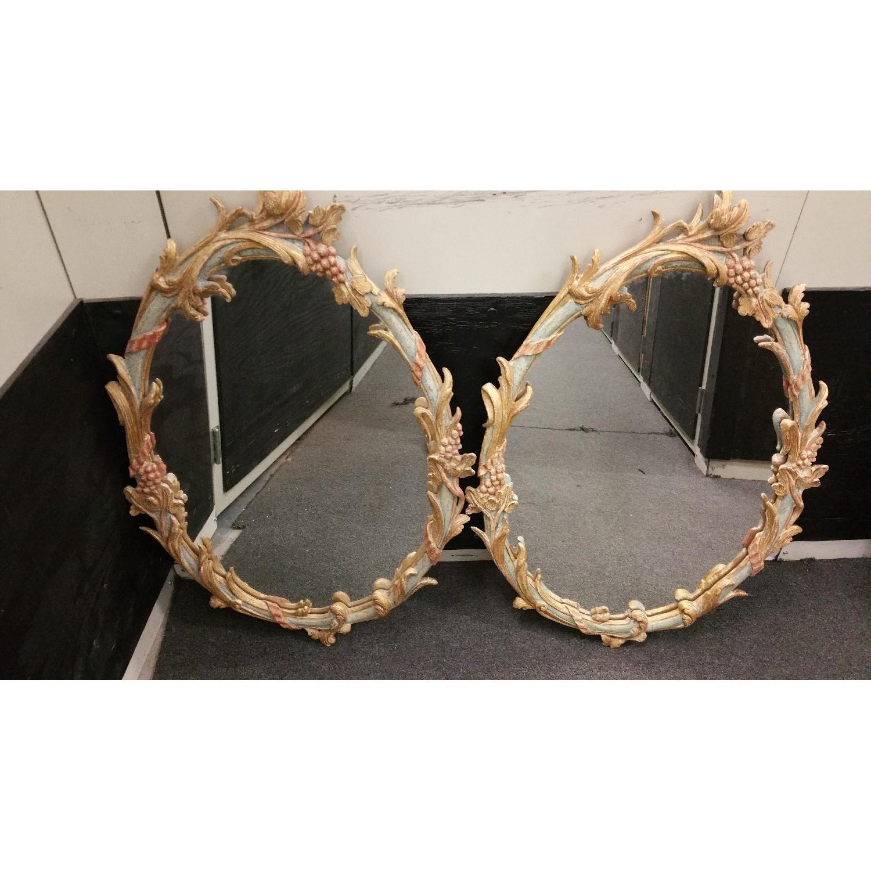 Italian Made Vintage Ornate Mirrors  - Pair - image-7