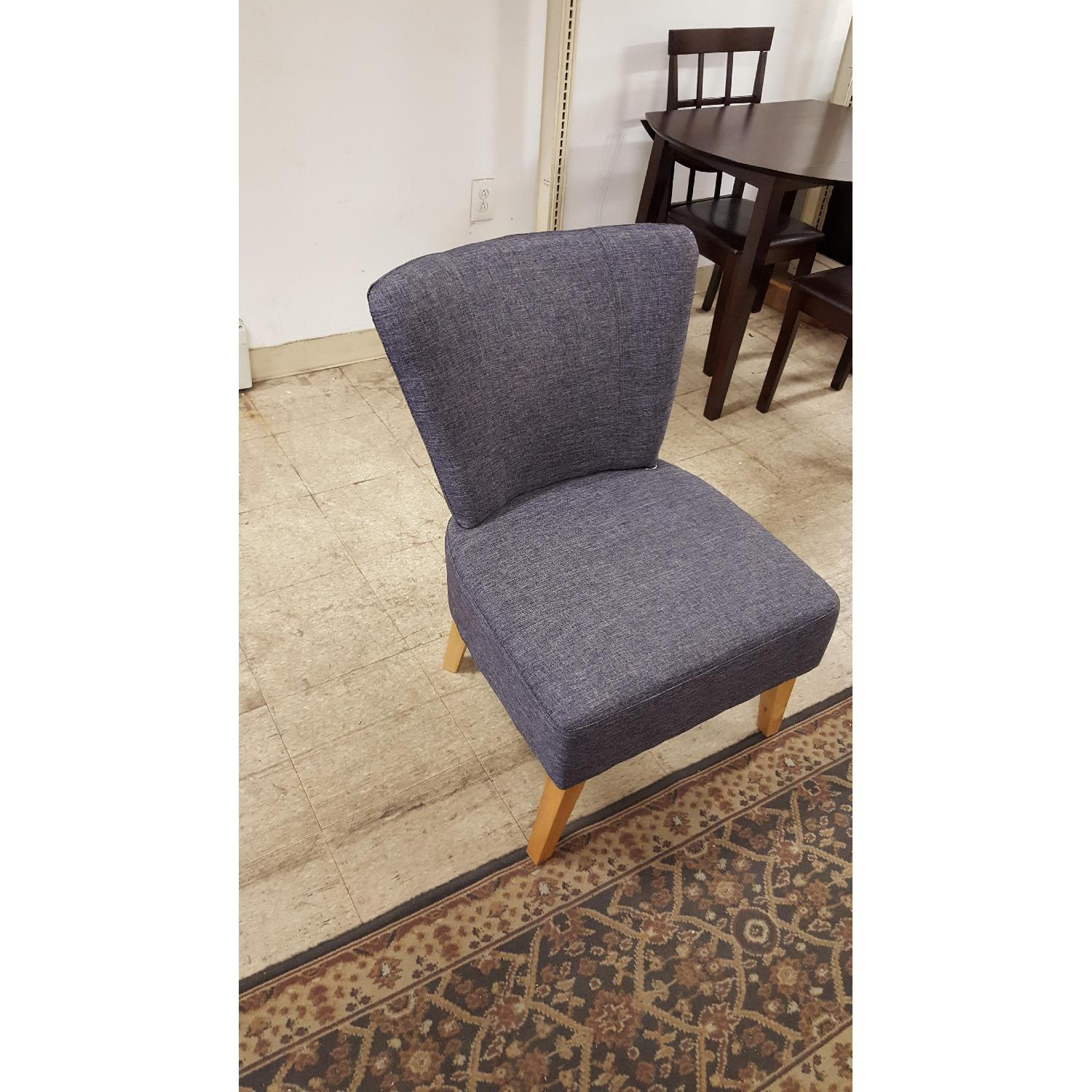Sauder Gray Accent Chair - image-1
