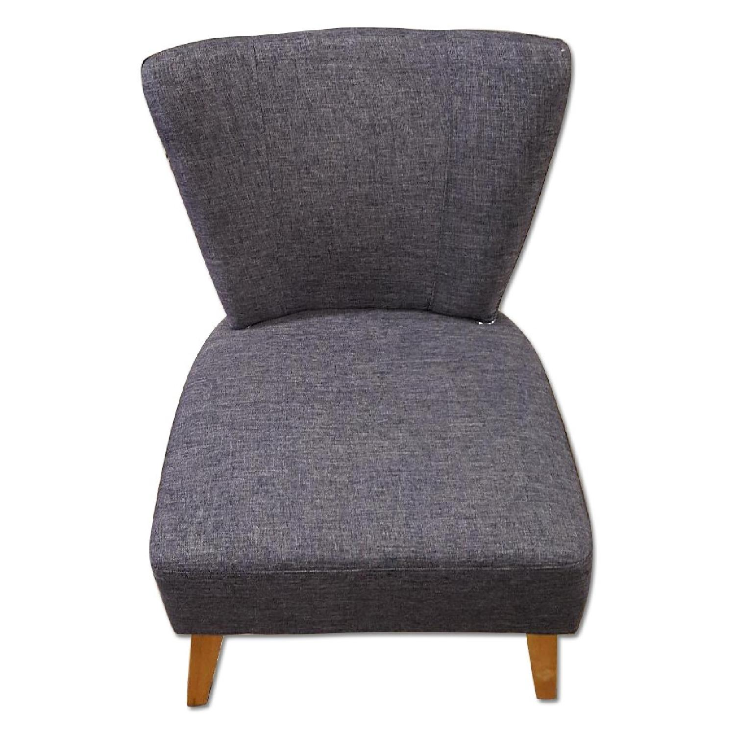 Sauder Gray Accent Chair - image-0
