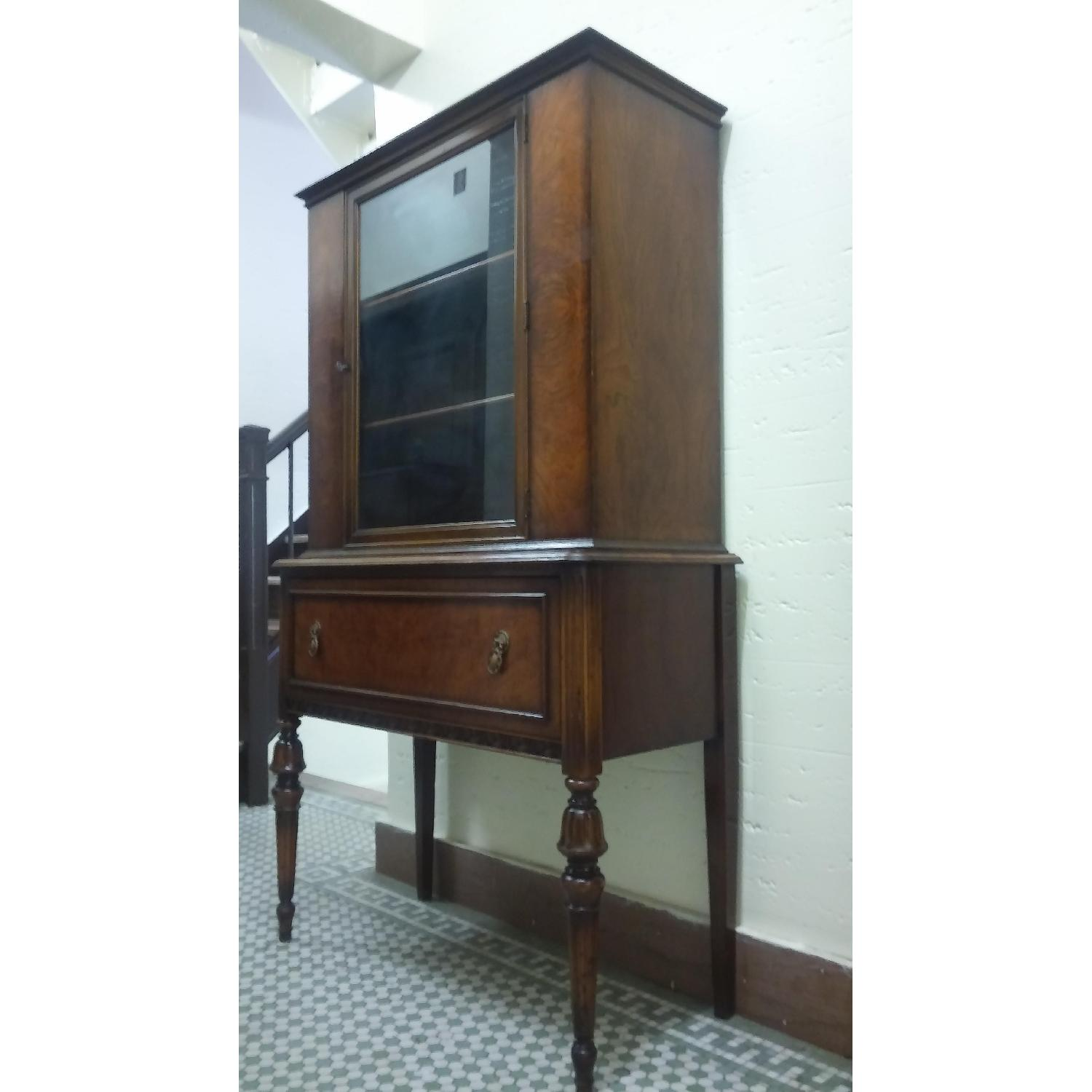 Berkey and Gay Furniture Antique China Cabinet - image-1