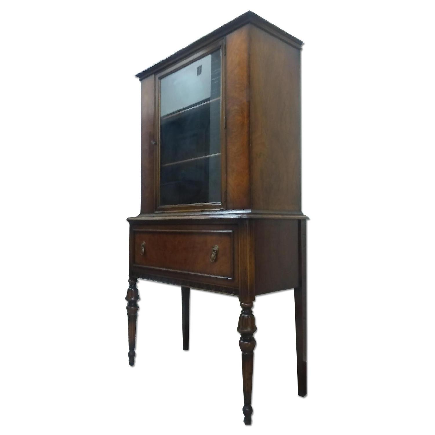 Berkey and Gay Furniture Antique China Cabinet - image-0
