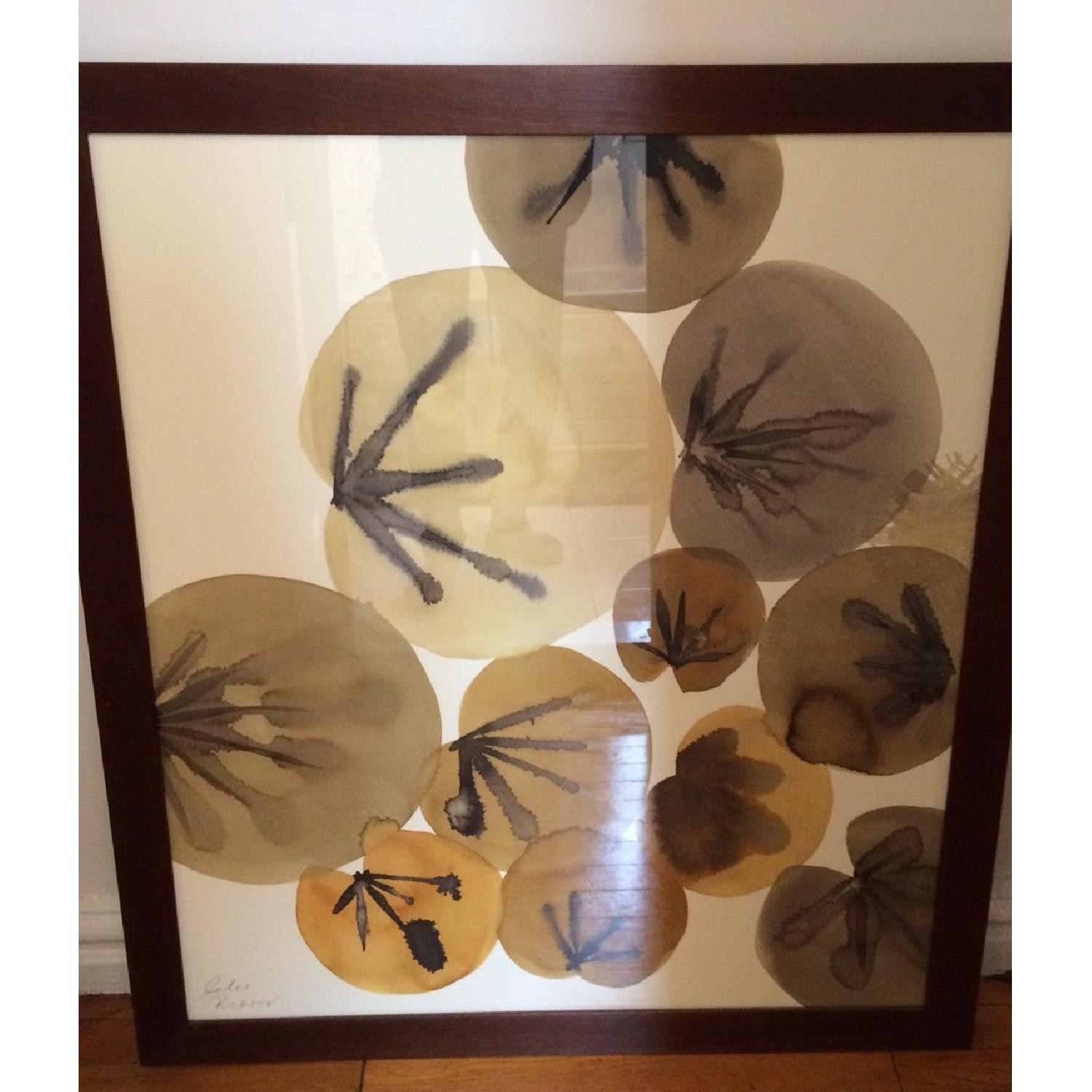 Crate & Barrel Lily Pads Wall Art - image-1
