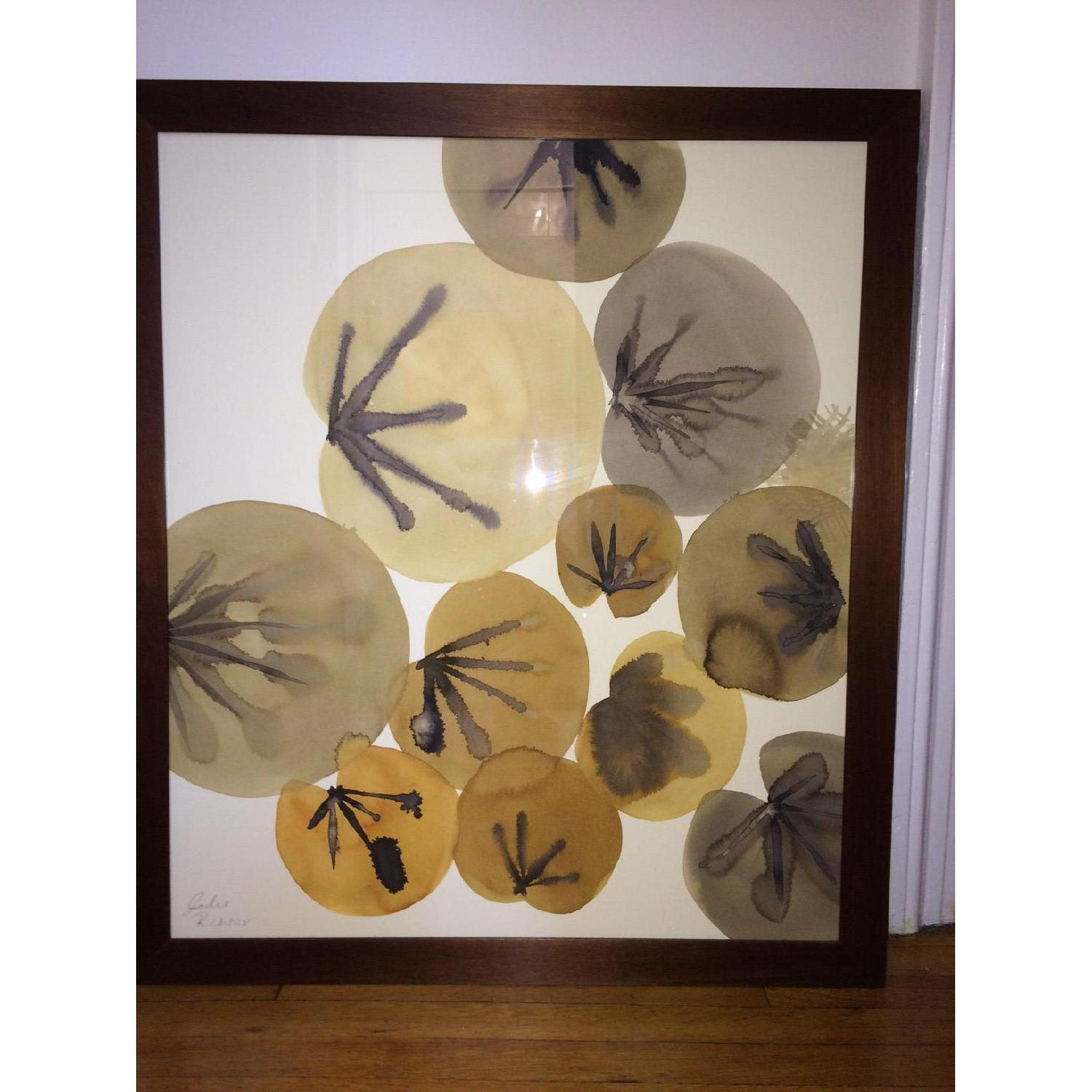 Crate & Barrel Lily Pads Wall Art - image-2