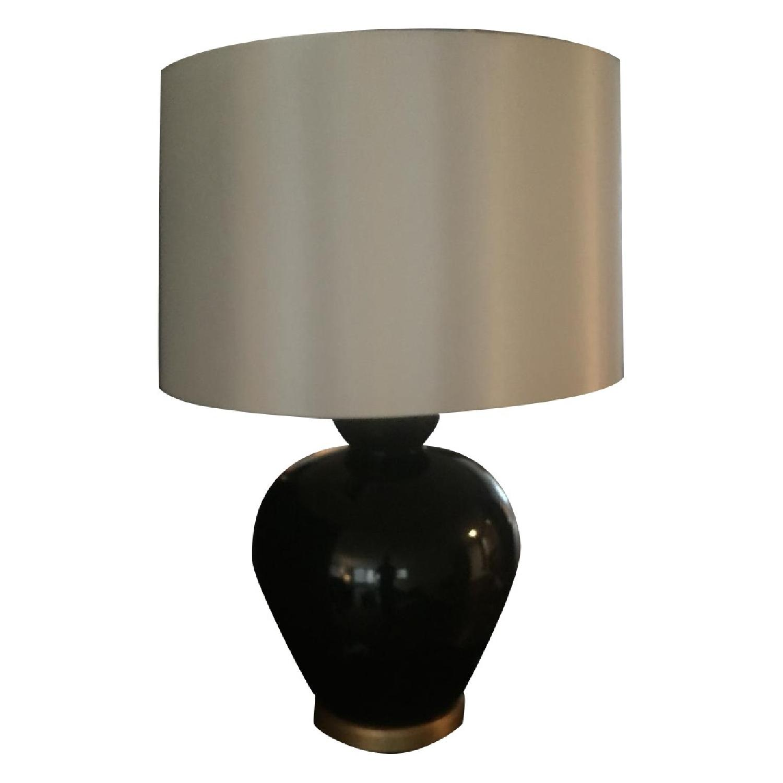 Bradburn Gallery Home Ebony Glaze Baja Table Lamp - image-0