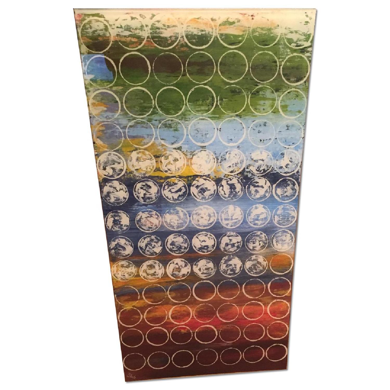 Steele Painting on Plexiglass - image-0
