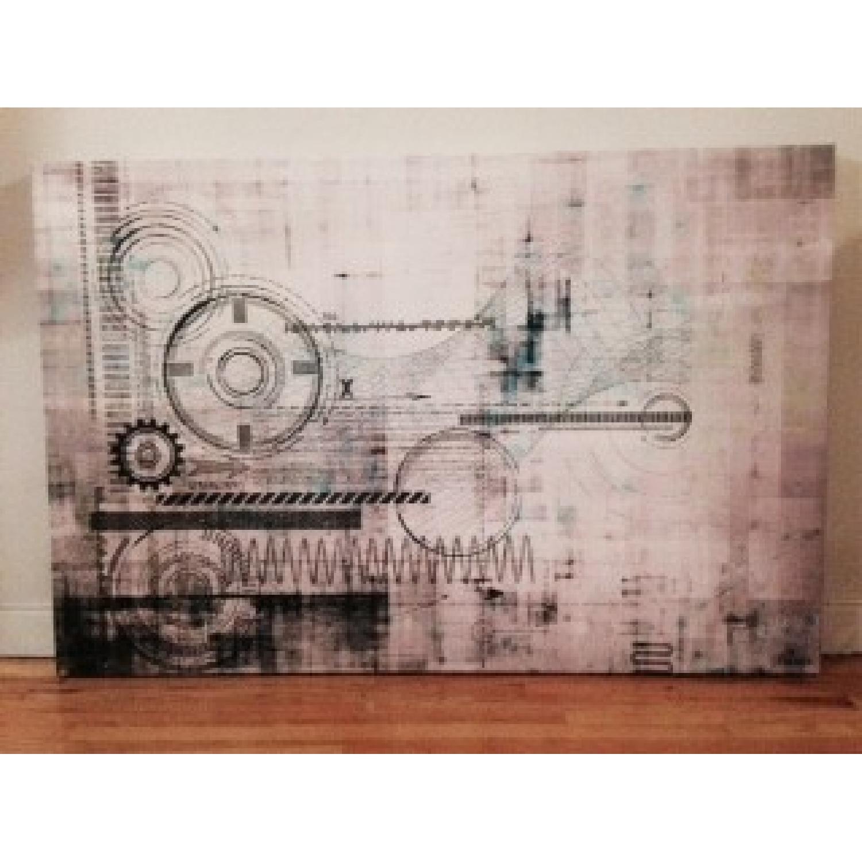 Perez Taj Canvas Lithograph - image-1