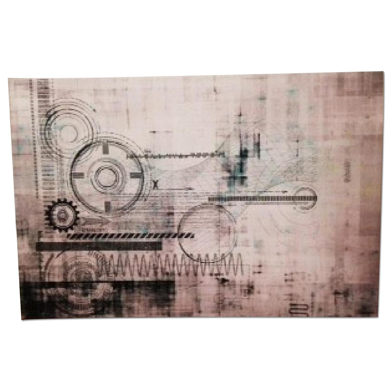 Perez Taj Canvas Lithograph - image-0