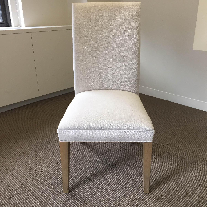 Restoration Hardware Hudson Parsons Upholstered Side Chairs - Set of 4 - image-1