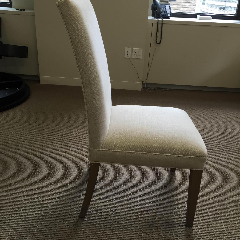 Restoration Hardware Hudson Parsons Upholstered Side Chairs - Set of 4 - image-2