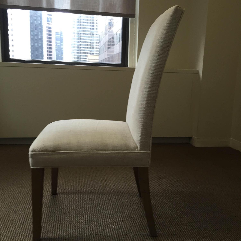 Restoration Hardware Hudson Parsons Upholstered Side Chairs - Set of 4 - image-3