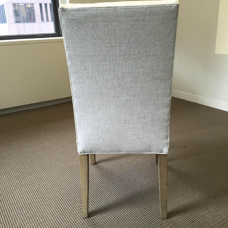 Restoration Hardware Hudson Parsons Upholstered Side Chairs - Set of 4 - image-4