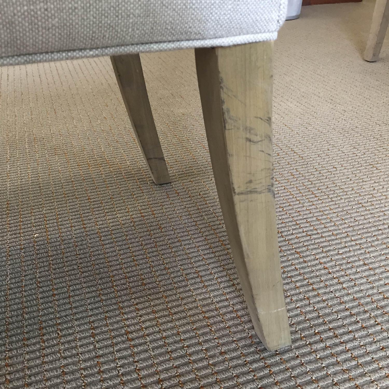 Restoration Hardware Hudson Parsons Upholstered Side Chairs - Set of 4 - image-6