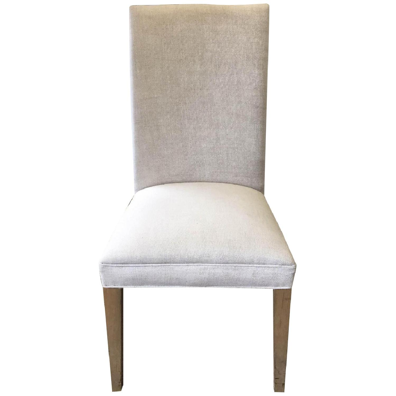 Restoration Hardware Hudson Parsons Upholstered Side Chairs - Set of 4 - image-0