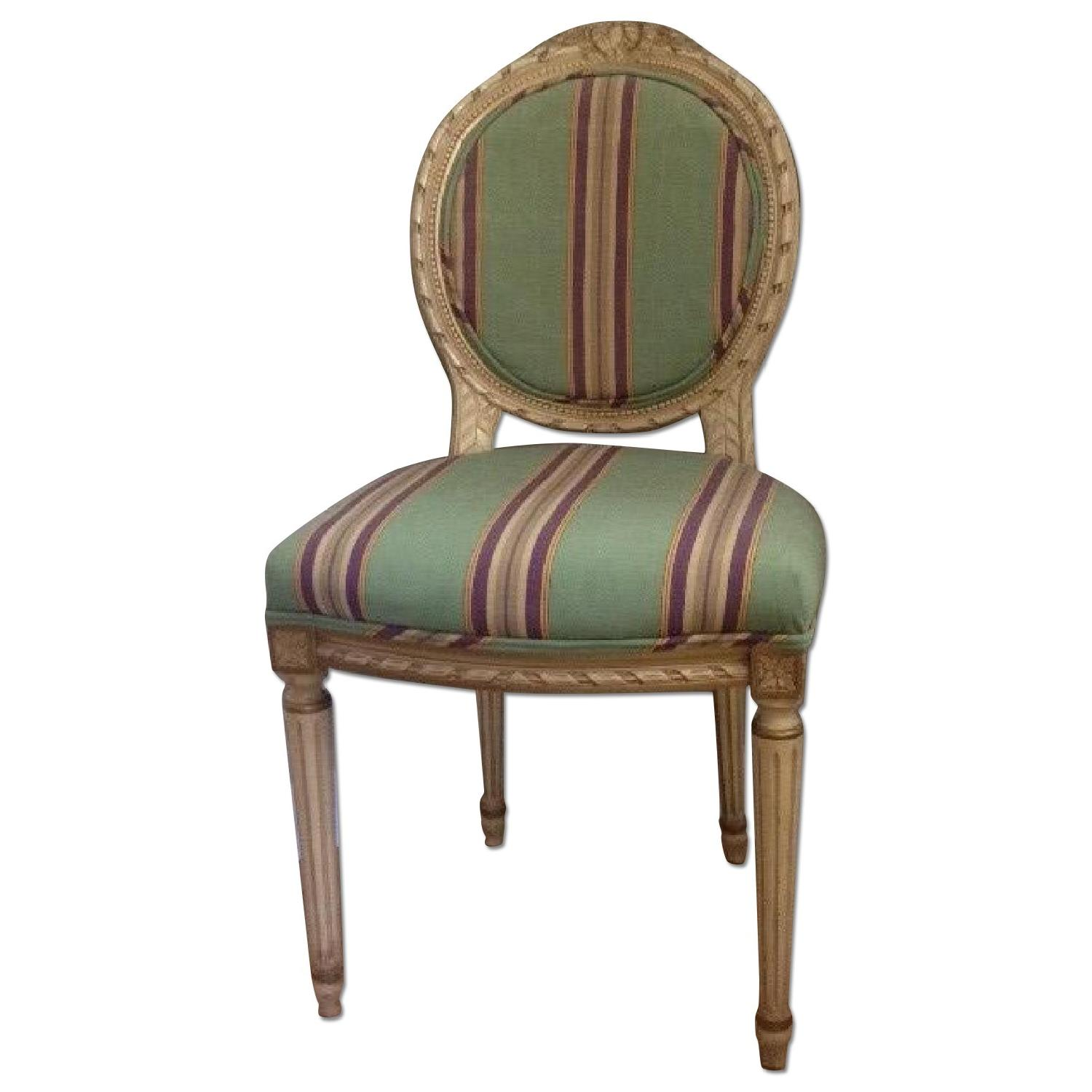 Estate Louis XVI Style Accent Chair ...