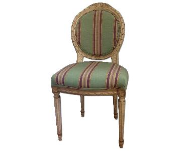 Estate Louis XVI Style Accent Chair